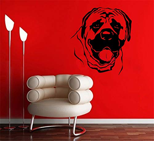 Wandtattoo Kinderzimmer Wandtattoo Wohnzimmer Doggie Cute Wall Art Animal Dog Mural Sticker Children Kids Room Decal for boys bedroom living room (Doggie-fenster)