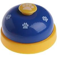 Qiuxiaoaa Entrenador de Perros y Gatos Huellas de Mascotas Entrenamiento del Anillo Perro Entrenamiento de los ladridos Comida Inteligencia Juguete Suministros para Mascotas Verde