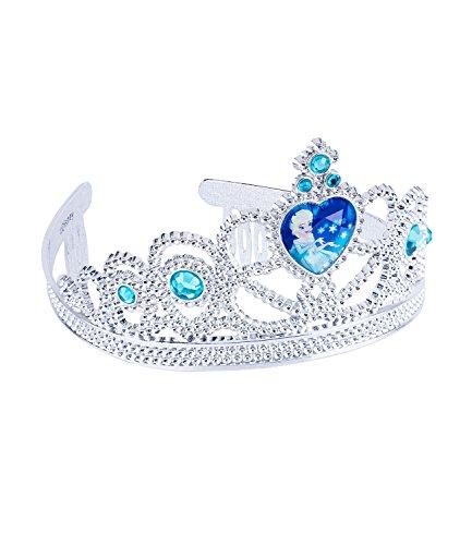 (SIX Disney Frozen Krone ELSA Kostüm Prinzessin Krone Disney Verkleidung Kindergeburtstag (305-229))