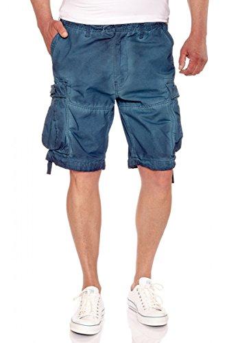 Jet Lag -  Pantaloncini  - Uomo blu navy
