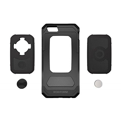 Rokform iPhone iPhone 6Plus (14cm) case–include RMS e montaggio magnetico–nero Natural