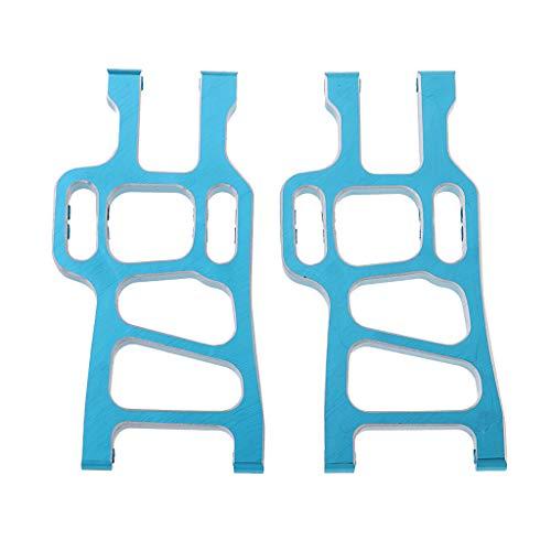 Homyl 1 Paar Lenkung Querlenker Zubehör für 1/10 HSP 94108 94111 RC Auto Crawler - Blau