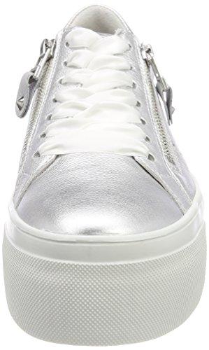 Sneaker Top Donna Kennel E Schmenger Argento (suola Argento Chiaro Bianco)