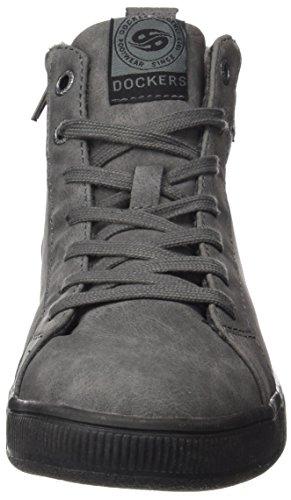 Dockers by Gerli 41ce305-635220, Sneaker a Collo Alto Donna Grigio (Dunkelgrau)