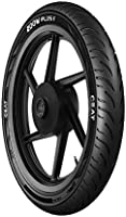 Ceat Zoom Plus F 100/80-17 52P Tubeless Bike Tyre, Front (Home Delivery)