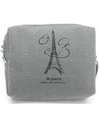 9e6d3a8a50d0a Excellent Quality Vintage Classic Women Girls Canvas Coin Purse Zip Wallet  Small Mini Bag Case Pouch