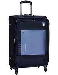 VIP Polyester 46 cms Denim Blue Softsided Suitcase (STORBW72DBL)