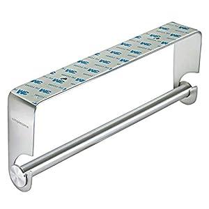 simpletome Küchenrollenhalter Papierhandtuchhalter Küche Unter Kabinett 3M Aufkleber oder Bohrinstallation SUS304 Edelstahl
