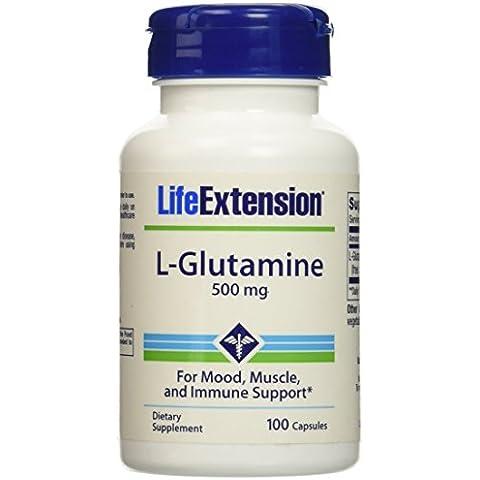 L-Glutamin Kapseln, 500 mg, 100 Kapseln