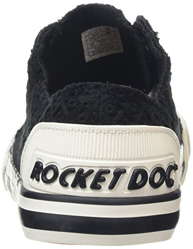 Rocket Dog Jazzin, Sneakers basses femme Noir - Schwarz (BLACK AA0)
