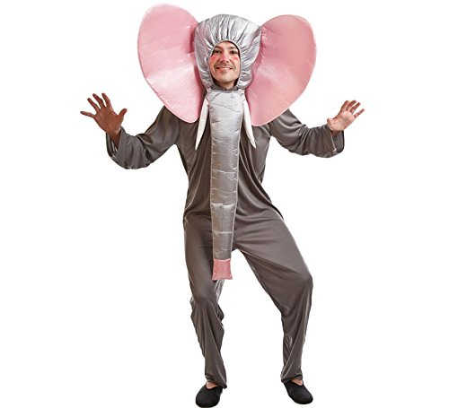 El Rey del Carnaval Kostüm Elefant - Unisex, L