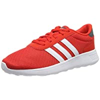Adidas Lite Racer, Men's Road Running Shoes, Multicolour (Active Red/Ftwr White/Grey Five), 8.5 UK (42 2/3 EU),F34647