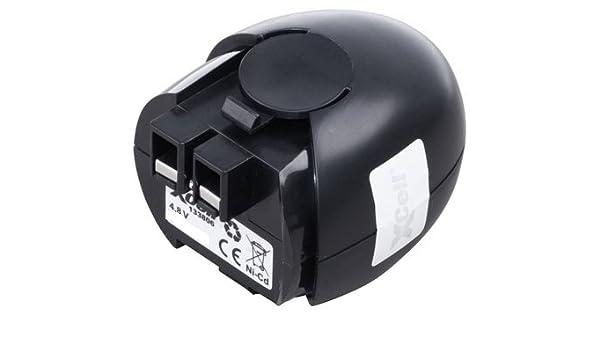 2x Akku für Metabo Powergrip2 Powergripp Flashlight 2100mAh 4.8V NiMH