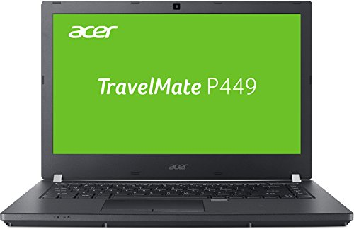 Acer TravelMate P449 (P449-G2-M-56L2) 35,5 cm (14 Zoll Full-HD IPS matt) Office Notebook (Intel Core i5-7200U, 8GB RAM, 256GB PCIe SSD, Intel HD, Linux) schwarz