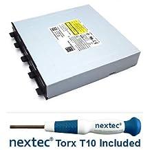 Nextec® Microsoft Xbox One Lettura DVD - Phillips: Liteon DG-6M1S-01B (HOP-B150) + Cacciavite di Sicurezza Torx T10