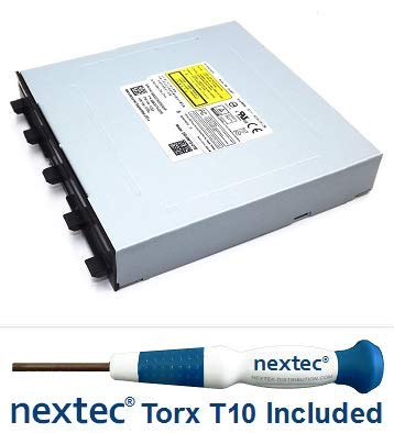 Microsoft Xbox One Bluray Laufwerk - Phillips: Liteon DG-6M1SDG-01B (HOP-B150) + Nextec® Torx T10 Security Schraubendreher