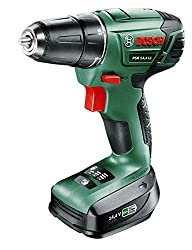 Bosch cordless screwdriver PSR 14,4 LI (1 battery, 14,4 Volt, in case)
