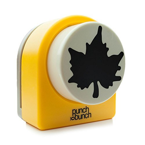 Punch Bunch Super Giant Punch, Maple Leaf - Punch-maple Leaf