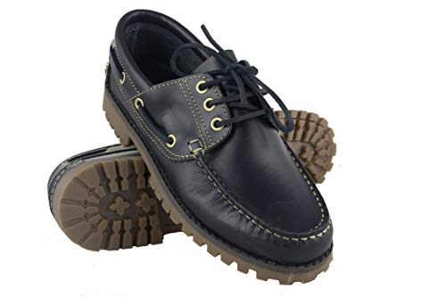 Zerimar Zapato Náutico Piel Hombre | Zapatos Náuticos