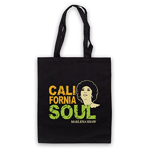 Inspiriert durch Marlena Shaw California Soul Inoffiziell Umhangetaschen Schwarz