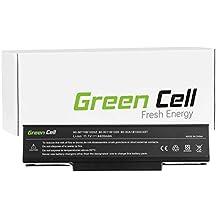 Green Cell® Standard Serie Batería para LG E500 Ordenador (6 Celdas 4400mAh 11.1V Negro)