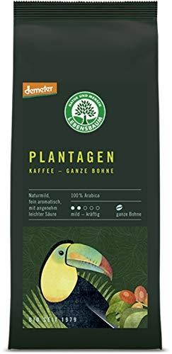 Lebensbaum Bio Plantagen Kaffee, ganze Bohne (6 x 250 gr)
