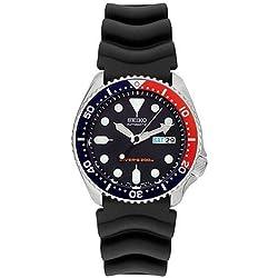 Seiko Watches 751744009018 Montre Bracelet Homme Caoutchouc Noir