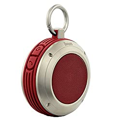 Divoom Voombox Rugged Bluetooth Speakers (Red and Black)