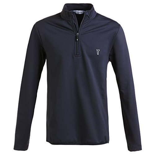 golfino-pull-camionneur-de-golf-en-techno-stretch-pour-homme-en-regular-fit-bleu-xl