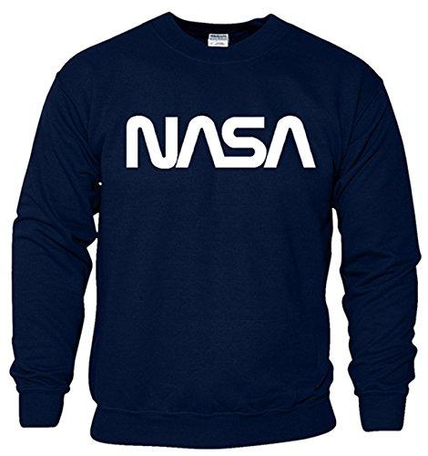 Designs Kinder Sweatshirt (SNS Online Marine Blau / Weiß Design - YM - 36