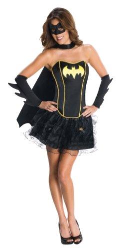 Batgirl Corset Erwachsene Kostüm, Größe M (Batman-batgirl Kostüme)