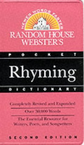 Random House Webster's Pocket Rhyming Dictionary (Best-Selling Random House Webster's Pocket Reference)