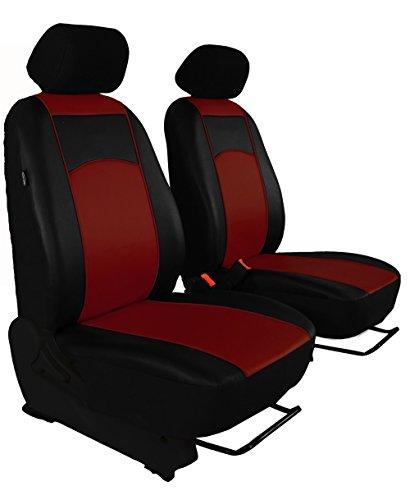 Sitzbezug maß Bus 1 + 1 Sitzer ECO -Leder 7 Farben für Volkswagen T5