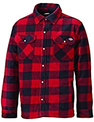 Dickies Portland Padded Shirt Red - L (44-46in)