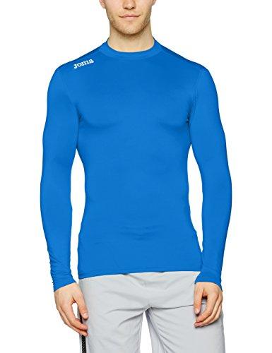 Joma Brama Academy Trainingsshirt Langarm türkis Kinder Turquoise Fluor, 128 royal blue