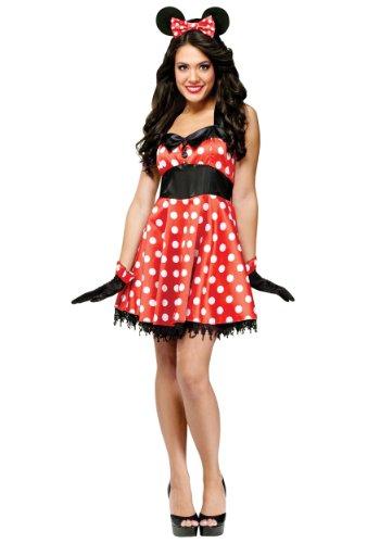 Unbekannt Retro Miss Mouse Fancy Dress Costume ()