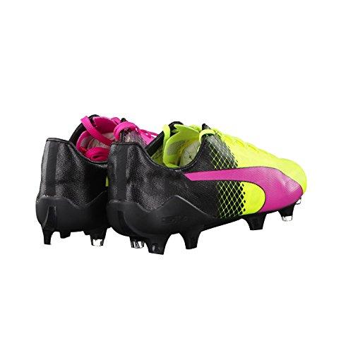 Puma evoSPEED SL II Tricks FG, Chaussures de football homme pink / neongelb