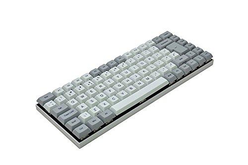 Vortex Race 3 - 75% - Grey CNC Case - PBT DSA Keycaps