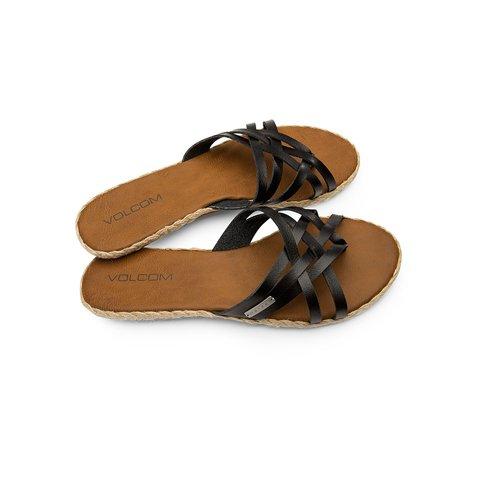 Volcom Check In Women's Sandal Vintage Black