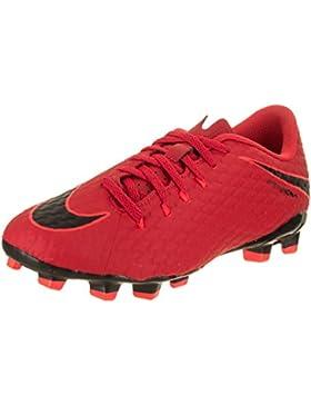 Nike Jr Hypervenom Phelon III FG, Botas de Fútbol Unisex Niños