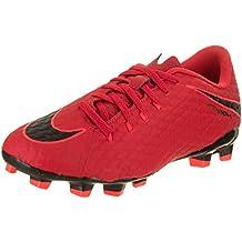Nike Jr Hypervenom Phelon III FG, Botas de fútbol Unisex para Niños