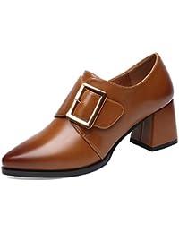 MUYII Zapatos De Mujer Para La Primavera Nueva Corea Zapatos De Moda Casual Y Zapatos De Tacón Antideslizantes...