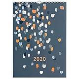 Boxclever Press Perfect Year A3 Kalender 2020 mit Tabs, Familienplaner 2020. Planer 2020 mit Monatsansicht von Jan. bis Dez. 2020 und viel Platz für Termine und Notizen, Tasche und Erinnerungsstickern