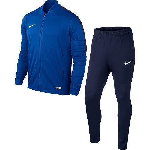 Nike Kinder Academy 16 Youth Knit Tracksuit Trainingsanzug, blau (royal Blue/Obsidian/White), L