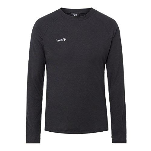 IZAS Nelion T-Shirt Homme, Noir, FR : 2XL (Taille Fabricant : XXL)