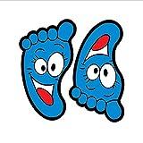 Wandaufkleber Cartoon Nette Trompete Gedruckt Füße Treppen Für Kinder Baby Zimmer Garten Kindergarten Wohnkultur Poster Ablehnen