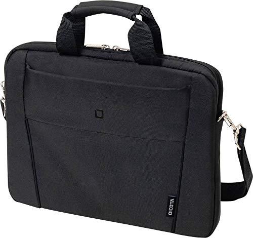 DICOTA D31304 Slim Case Base Notebooktasche (14.1 Zoll) Schwarz Slim Case