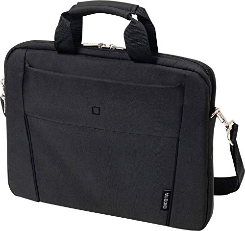 DICOTA D31304 Slim Case Base Notebooktasche (14.1 Zoll) Schwarz Slim Notebook Case