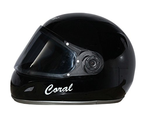 Rider Full Face Helmet ISI Mark Solid Helmet Plastic with Visor Helmet  available at amazon for Rs.580
