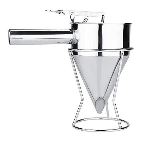 Singeru - Dispensador de masa de acero inoxidable para hacer panqueques, panqueques, panqueques, panqueques, utensilios de cocina